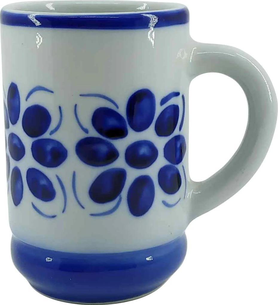 Caneca de Porcelana Azul Colonial 350 ml