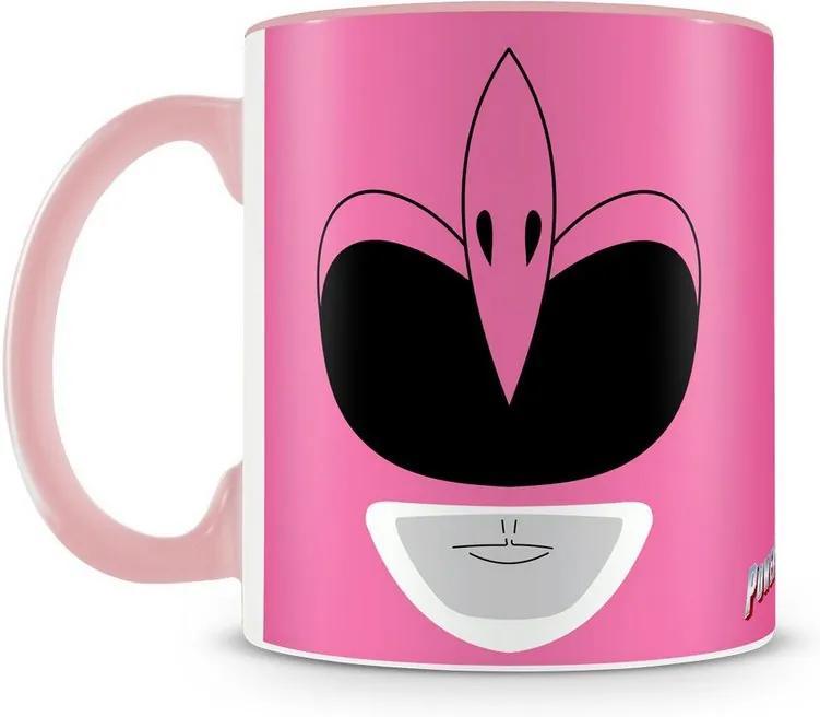 Caneca Personalizada Power Rangers (Ranger Rosa)