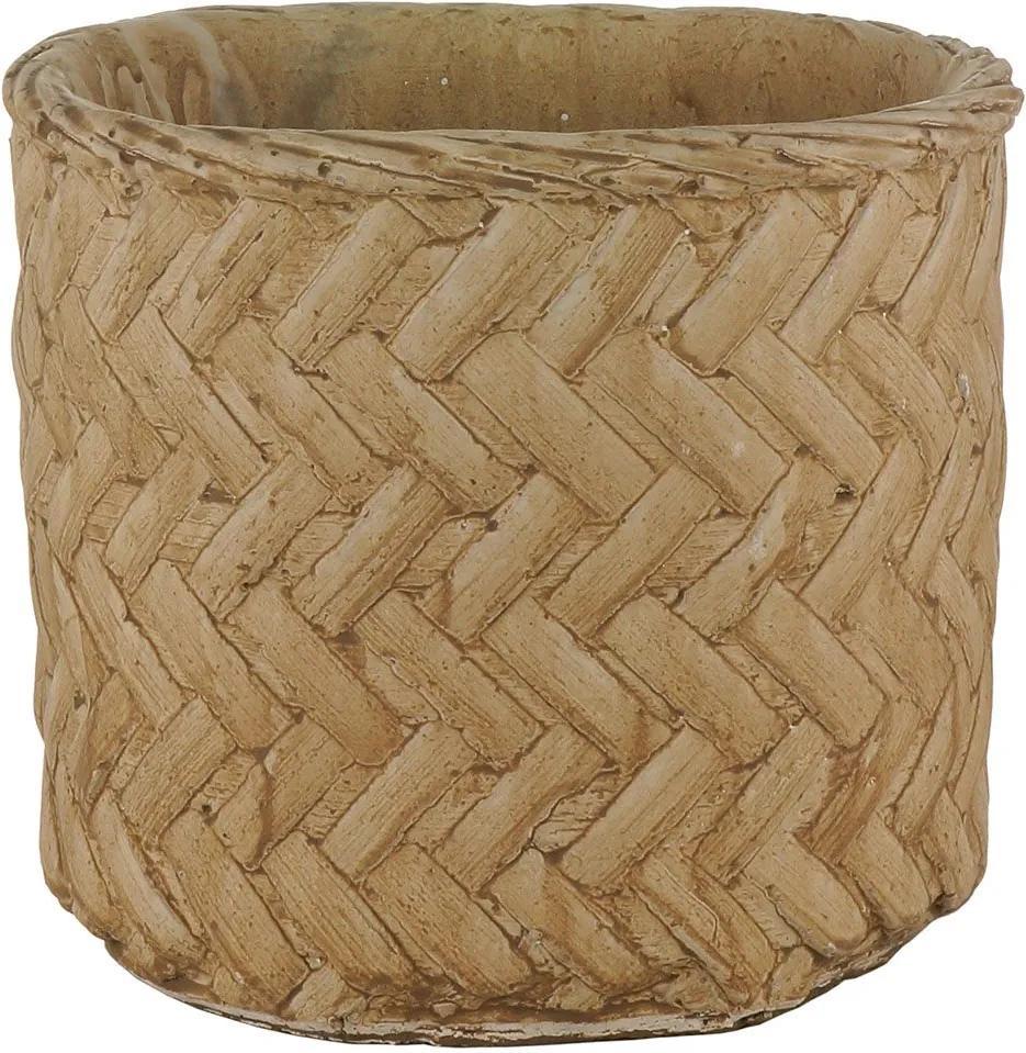 Vaso Decorativo de Cimento Kolwe M