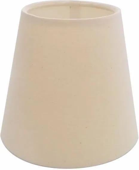 Cúpula em Tecido Cone Abajur Luminária Cp-2004 14/08x13cm  Algodão Crú