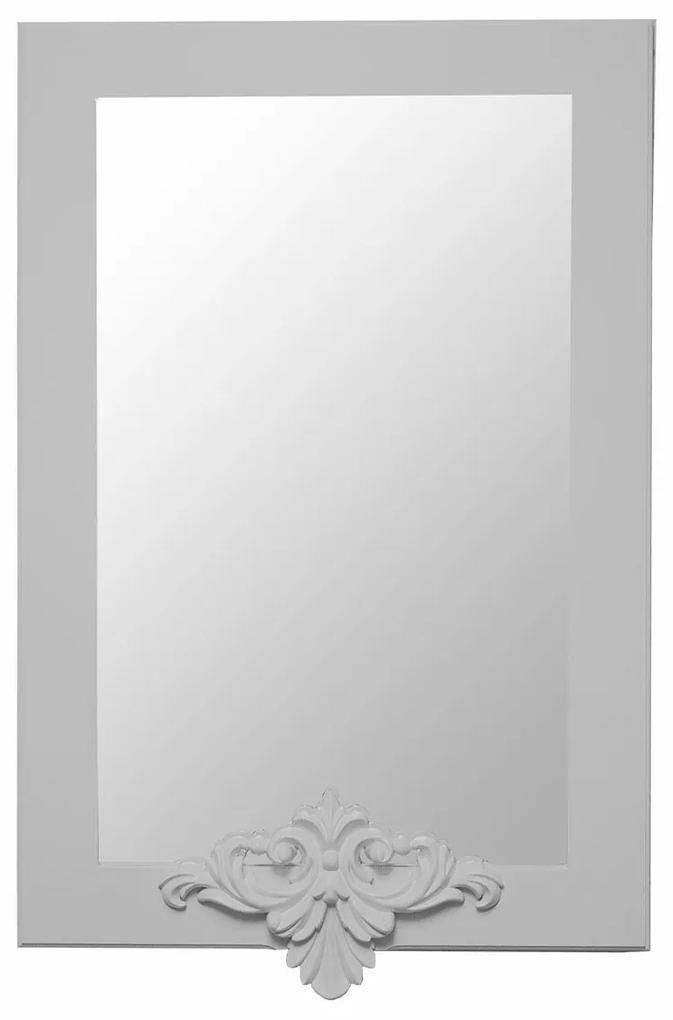 Espelho Lavanda Retangular - Cinza Claire Provençal Kleiner Schein