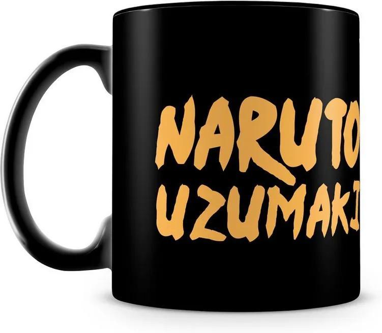 Caneca Personalizada Naruto Uzumaki (100% Preta)
