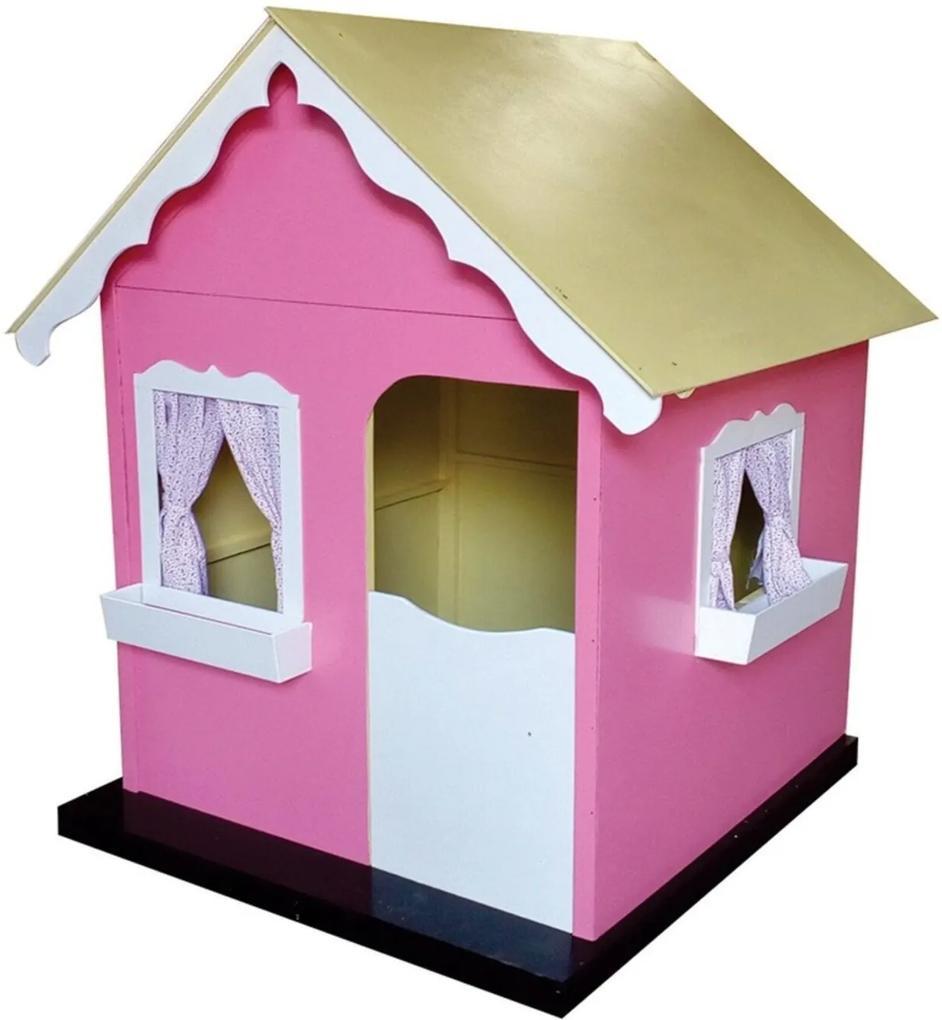 Casinha de Brinquedo Criança Feliz Rosa