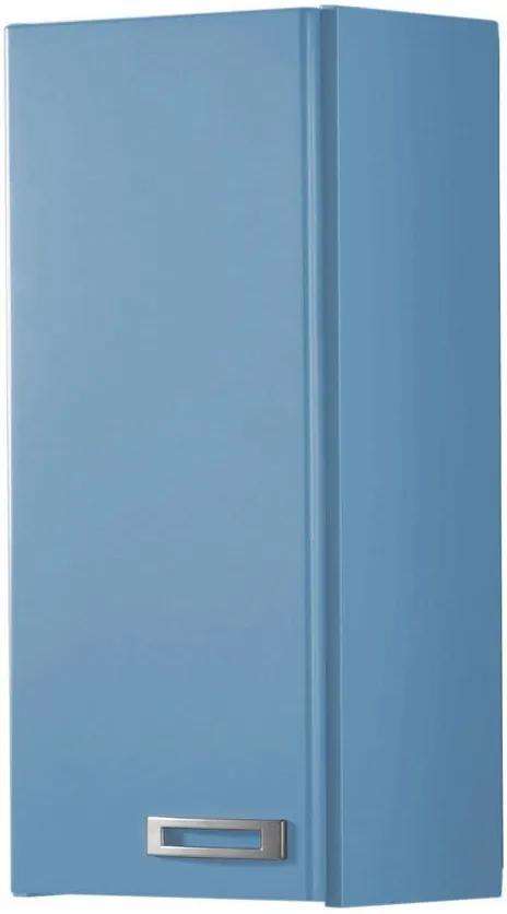 Armário de Banheiro Aéreo 1 Porta Kenzo 160 Azul Serenata - Maxima