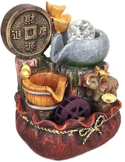 Fonte Japonesa com Roda D'agua