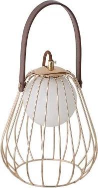 abajur LAMP metal french gold 1xbipino 18cm Bella ML001G