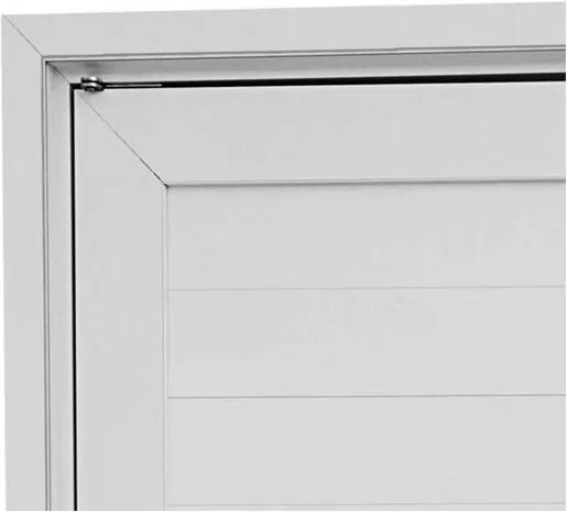Guarnição para Porta Pivotante Branco Aluminium 243,5x146,2x12cm - 72928237 - Sasazaki - Sasazaki