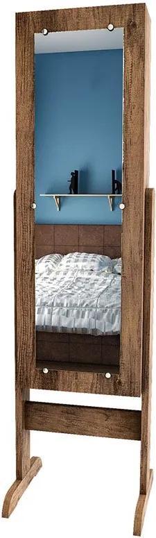 Toucador Retrô Com Espelho 7100 Jb Bechara - Canela
