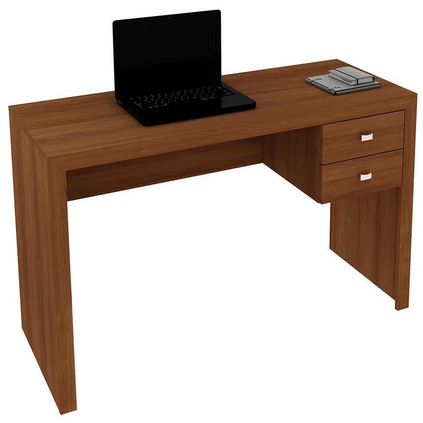Mesa Para Escritório ME4123 Amendoa - Tecno Mobili