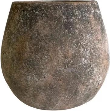 Cachepot de Cimento Rústico 26x24cm