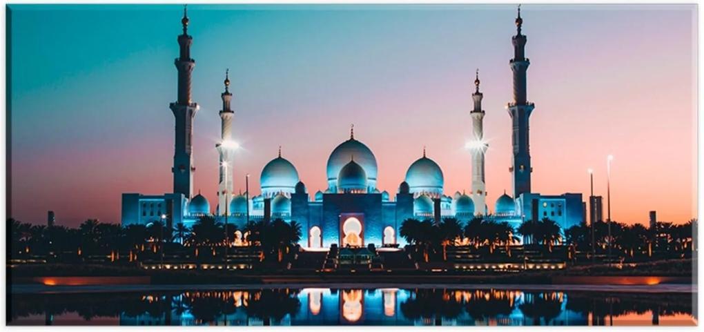 Tela Decorativa Slim Taj Mahal Unico Love Decor