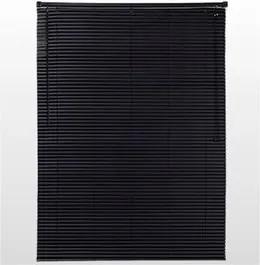 Persiana PVC 120X160cm Preta 25mm Conthey