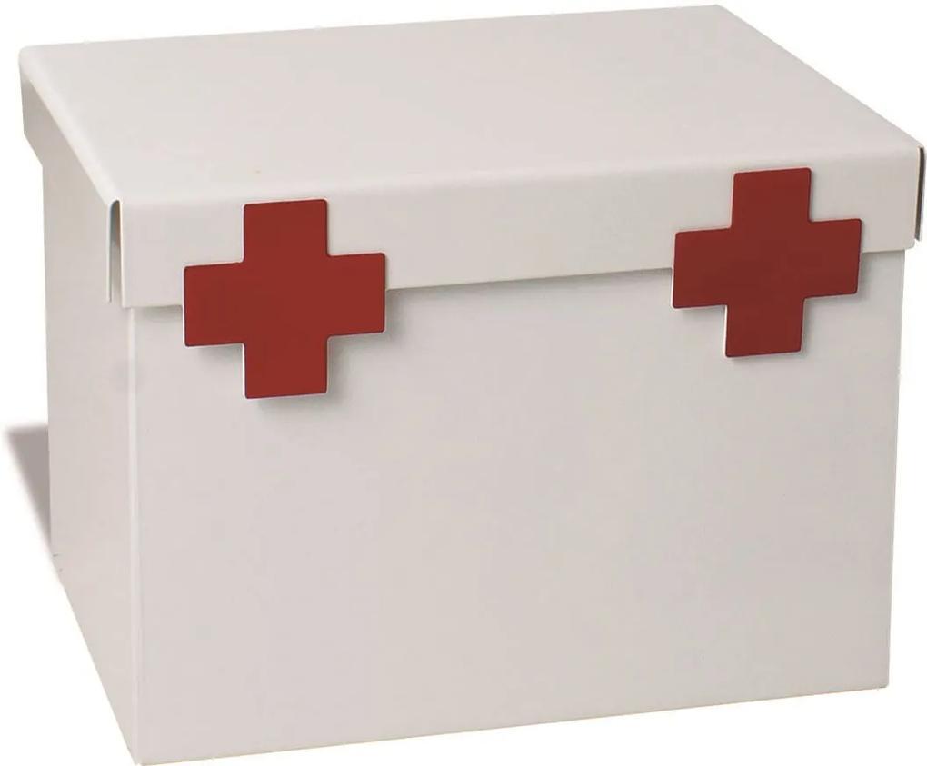 Caixa de Remédios Maleta Branca