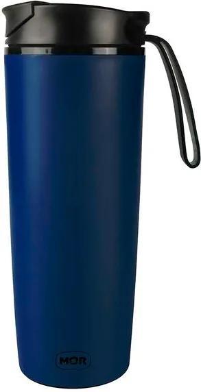Copo Antiqueda 450ml Coffee To Go - Azul