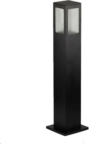 Balizador Garten Vidro Pontilhado 50cm Preto 1xE27 - 14100100-01 - Germany - Germany