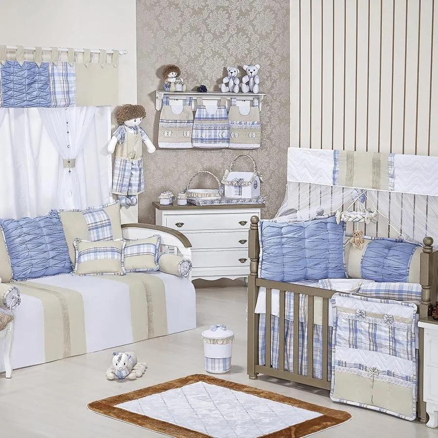 78e214ea19 Happy Baby roupa de Cama Infantil na cor azul de Essencial Enxovais ...