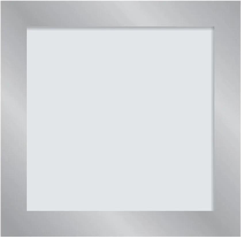 Plafon Led Embutir Acrilico Espelhado 9w Luz Branca Vigo