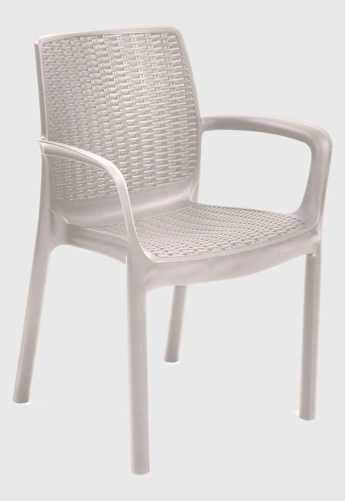 Cadeira Bali Cappuccino Keter Bege