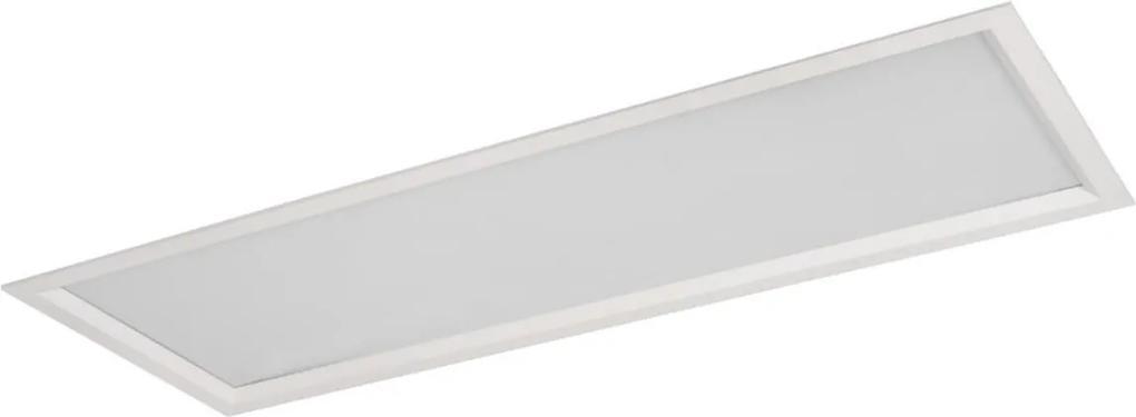 Plafon Led Embutir Retangular Acrilico Luz Branca Sevilha