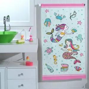 Toalha de Banho Infantil Sereia Teka (65x115cm)