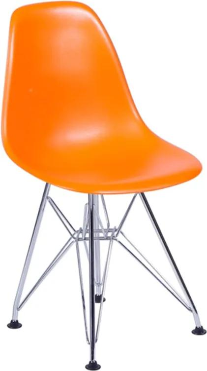 Cadeira Sydney Infantil Laranja