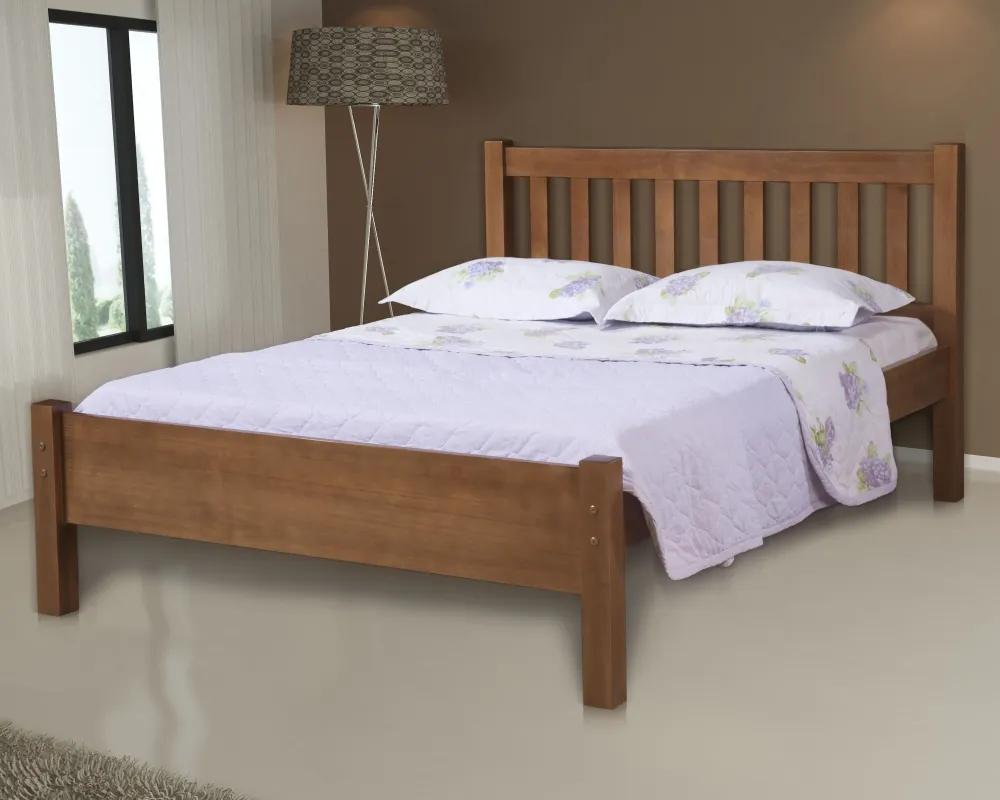 Cama de Casal Alice Madeira Maciça Bedroom