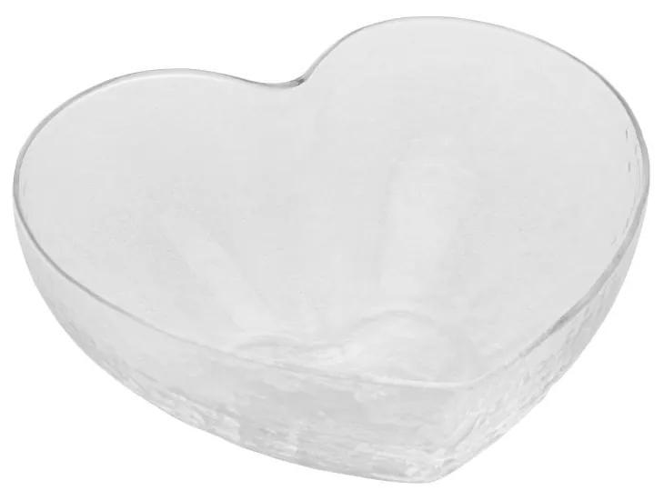 Bowl Vidro Heart 12x11x5cm 28342 Bon Gourmet