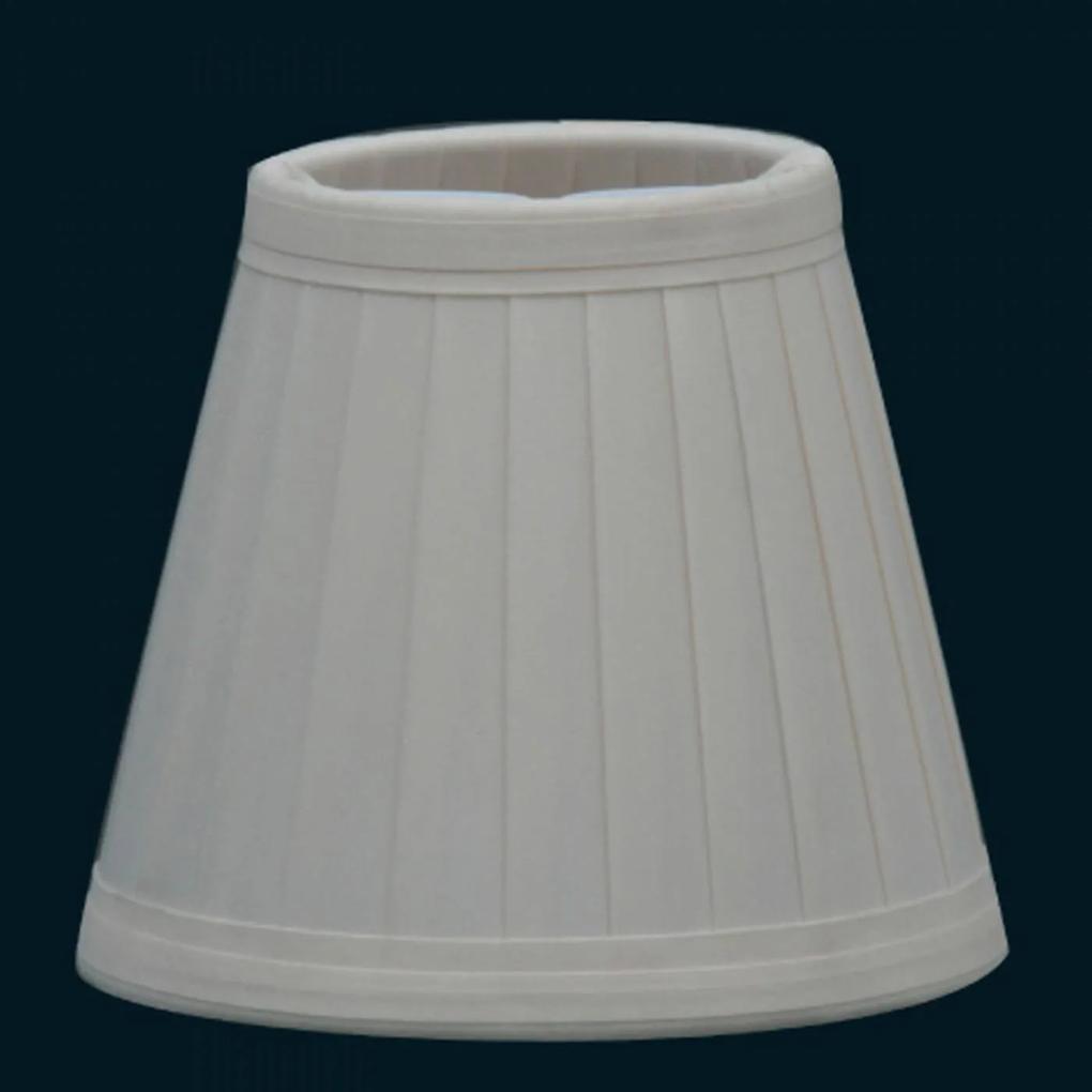 MINI CÚPULA branca p/ lâmpada vela 13cm Bella HU040