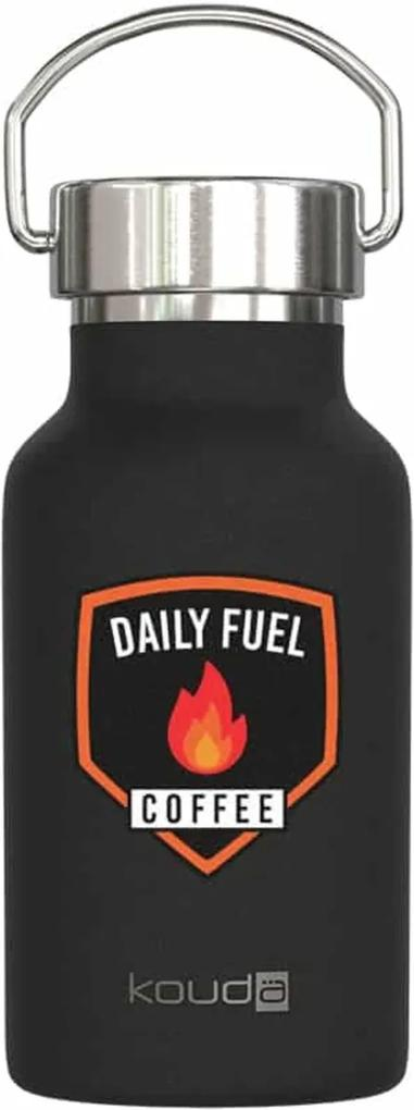 Garrafa Kouda 350ml 10356 Preta PC Daily Fuel