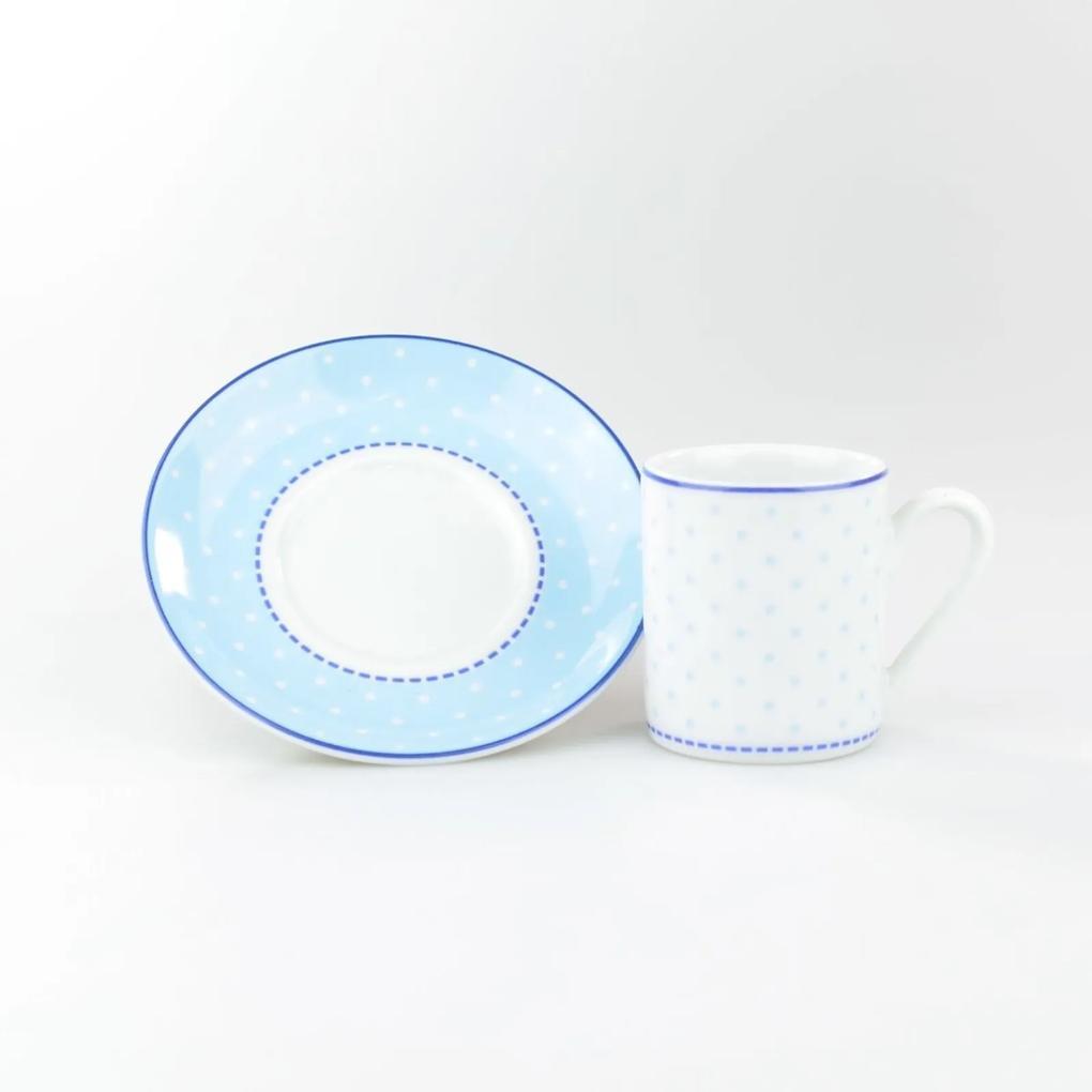 Xícara Café Com Pires 80 ml Porcelana Schmidt - Dec. Maitê