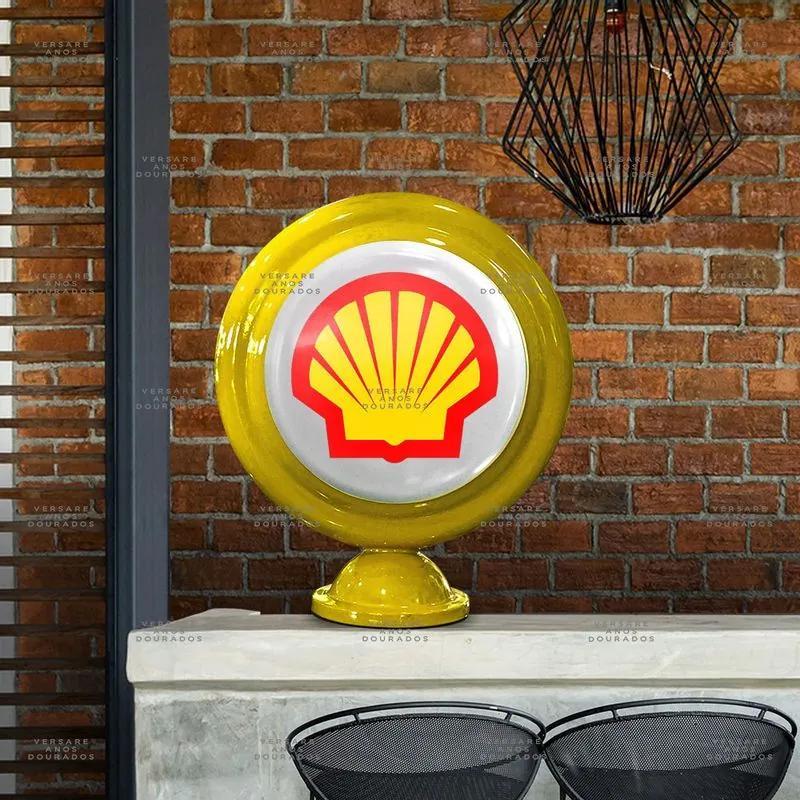 Luminária De Mesa Shell