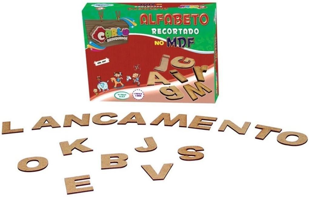 Jogo Educativo Alfabeto - Carlu