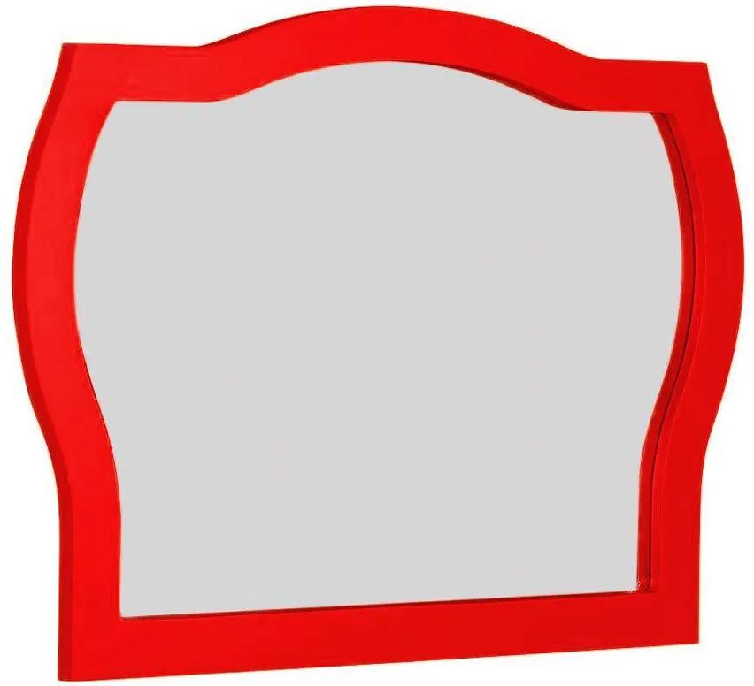 Espelho Jungle 607-1 Vermelho - Maxima