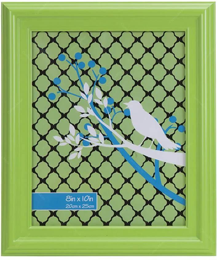 Porta-Retrato Grande Ashton Verde em Polipropileno - Urban - 25x20 cm
