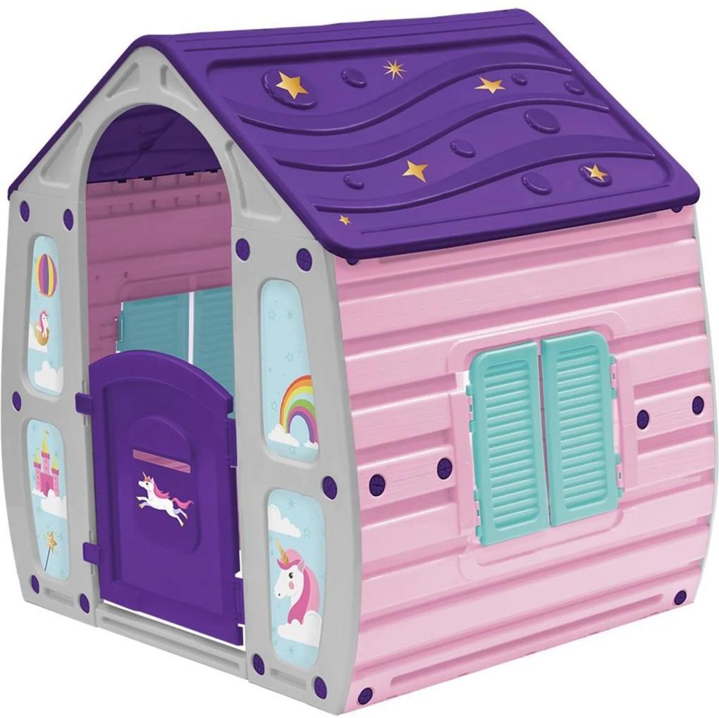Casinha de Brinquedo Infantil Unicórnio Bel Brink