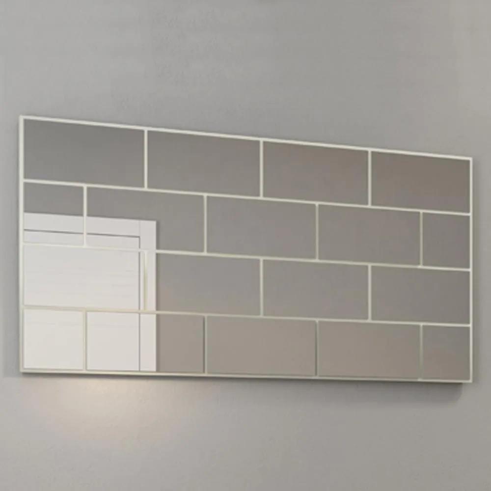 Espelho Ladrilho 140 cm Tb90 Off White - Dalla Costa