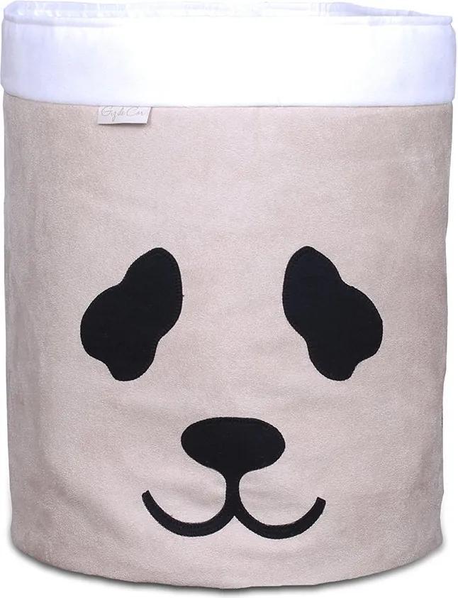 Cesto Organizador Panda Cáqui