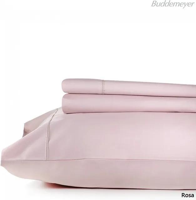 Jogo de Cama Casal 200 Fios Confort Basic - Rosa