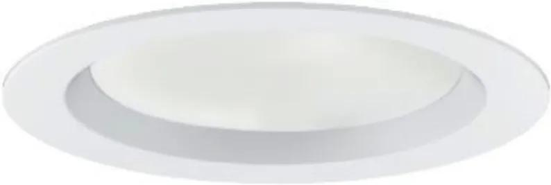 Plafon Led Embutir Branco 10w Luz Amarela 3000k Skyled R