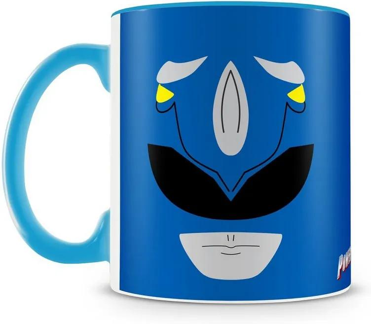 Caneca Personalizada Power Rangers (Ranger Azul)