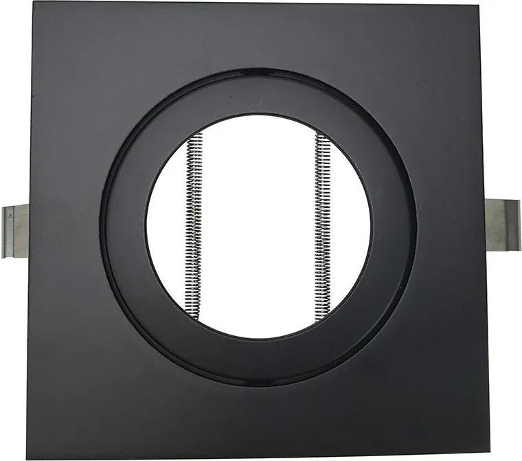 Embutido Direcional Quadrado para PAR20 Preto - Bella Luce - BL1085/1PF