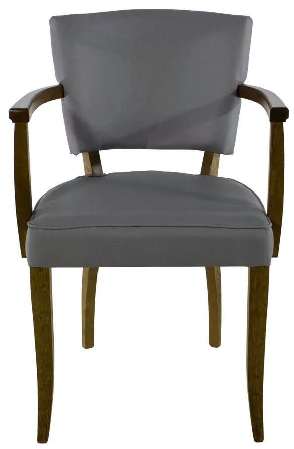 Cadeira de Jantar Bianca Com Braço - Wood Prime SS 31423