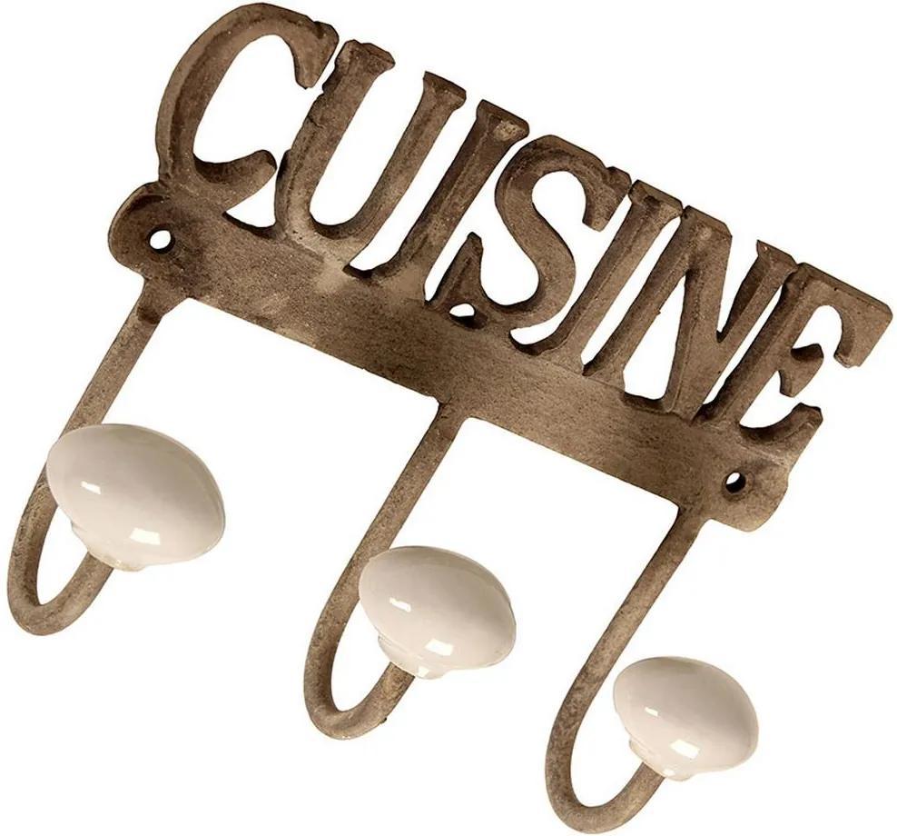 Cabideiro de Metal Decorativo Cuisine II