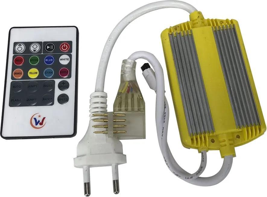 Controle Remoto para Fita de LED RGB 12MM Bivolt - Delis - DS2201-12