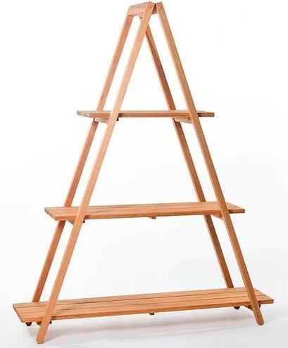 Estante Escada Troia Stain Jatoba 150cm - 61410 Sun House