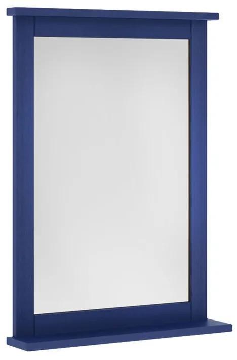 Espelheira Mission 53x74 cm Azul - Wood Prime MR 34677