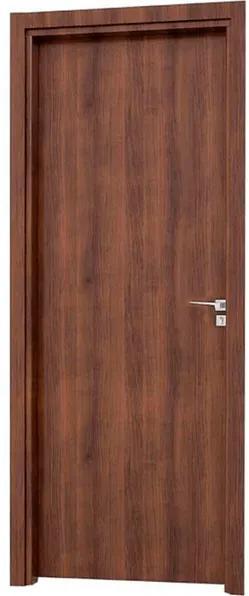 Porta Interna de Abrir Alumínio Madeira Aluminium Esquerda 215x88x10cm - 72022025 - Sasazaki - Sasazaki