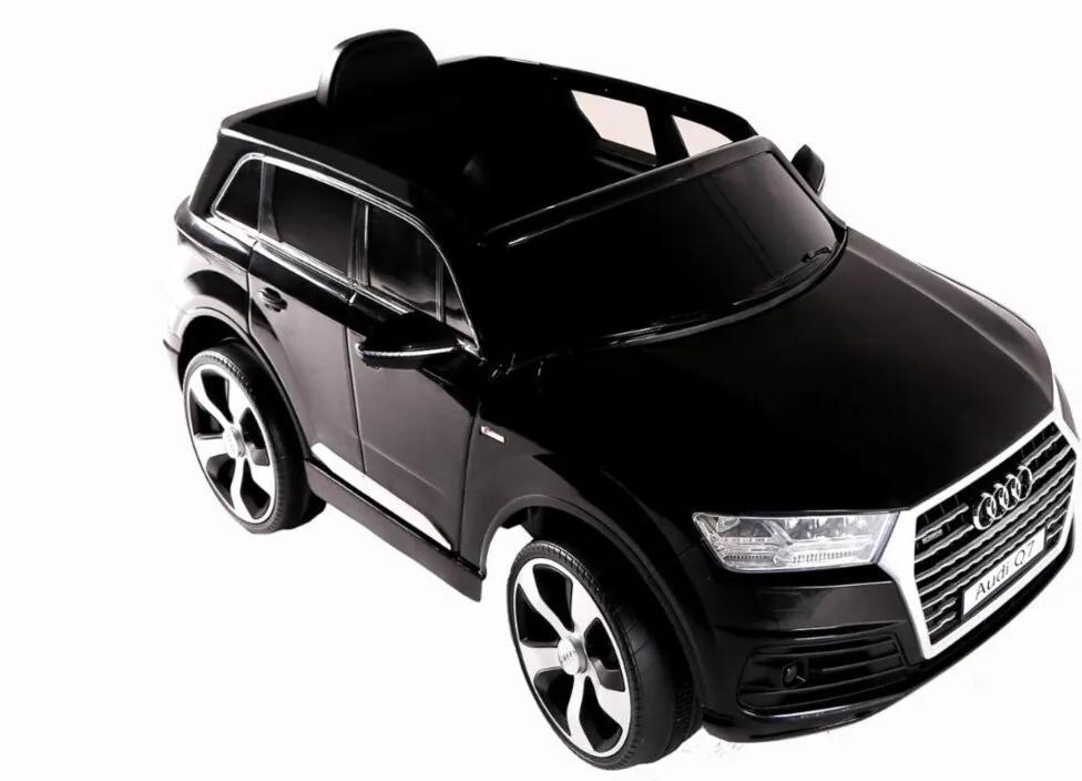 Carro Elétrico Fluxo Conv. Audi Q7 Preto 12V C/ Controle Preto