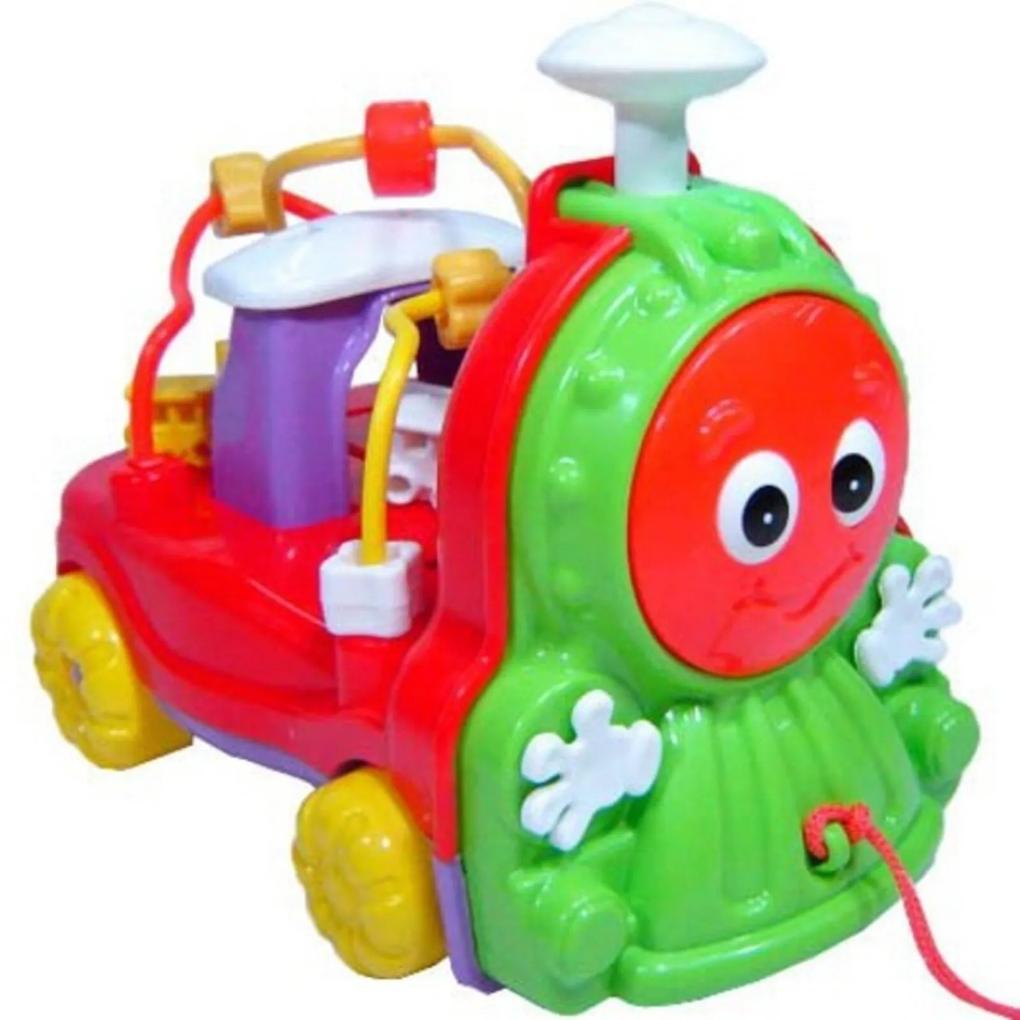 Brinquedo Calesita Donka Trem Multicolorido