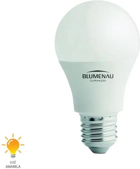 Lâmpada LED A60 E27 9W Bivolt Branco Quente 3000K - 03094013 - Blumenau - Blumenau